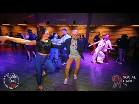 Marco & Olesya - Salsa social dancing | Mambo.love 2018