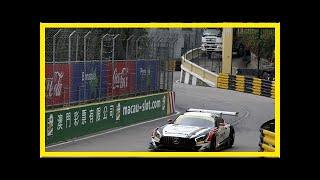 Macau FIA GT World Cup: Raffaele Marciello puts Mercedes on pole   k production channel