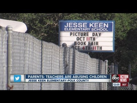 Parents say teachers abused children at Jesse Keen Elementary School