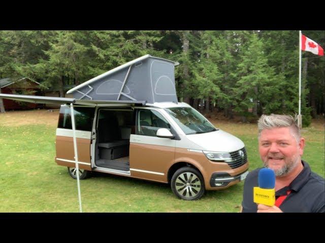 VW California facelift (præsentation)