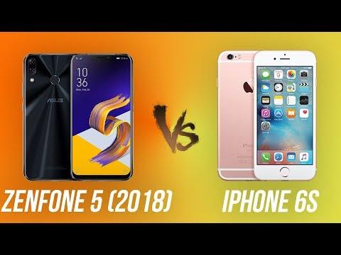 So sánh hiệu năng ASUS ZENFONE 5 (2018) vs iPhone 6s
