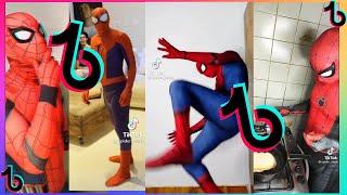 😂MELHORES VÍDEOS DO HOMEM ARANHA DO TIKTOK #2  -  (@spider_slack)