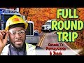Round-trip From Montreal Canada To Pennsylvania US #Flatbed. Vlog #105