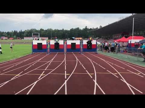 17.06.2018 Trinec - 100m prekazek muzi HZS