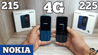 Nokia 215 4G & Nokia 225 4G Unboxing - Which Should You Buy ?