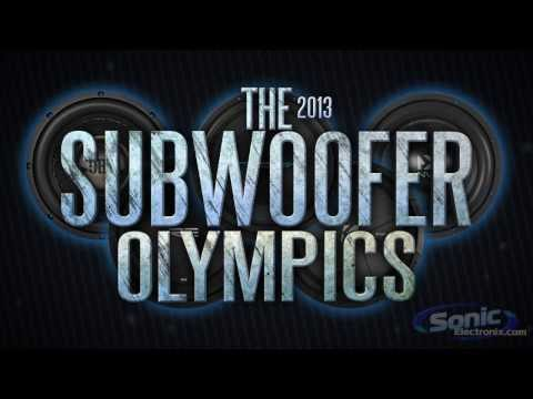 Subwoofer Olympics (Event 1 Of 3) - Low Frequency | 2013 Sonic Sub Olympics