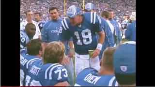 Peyton Manning Tells Jeff Saturday How It Is