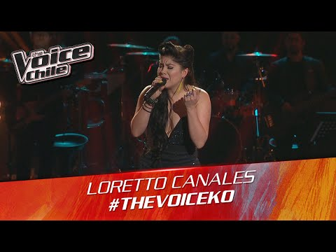 The Voice Chile | Loretto Canales - Hello