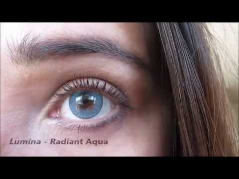 caace8f4262164 ColourVUE Lumina Contact lenses - All colors - YouTube