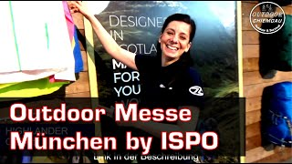 Outdoor by Ispo Messe München 2019 - Carinthia, Highlander, Gruezi Bag, Bayonix, Amazonas, Morakniv