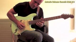 soulful guitar by antonio saluena with a cbg backing track