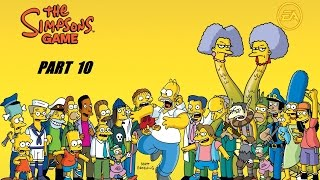THE SIMPSON GAME PART 10  HD USA [English Gameplay Walkthrough] (no commentary)