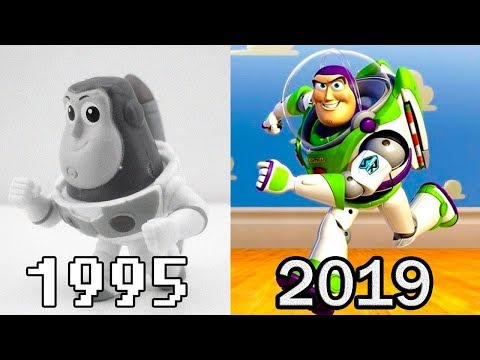 Evolution of TOY STORY Games (1995 - 2019)