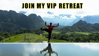 JOIN MY VIP Retreat for Wing Chun -Tai Chi to improve your health