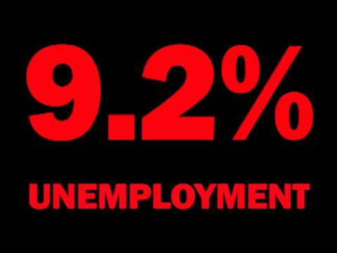 USA Unemployment Rate Rises to 9.2% in July 2011 -- Report & Analysis