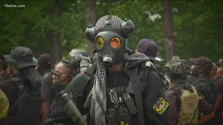 Armed demonstration at Stone Mountain Park brings questions of permits in city