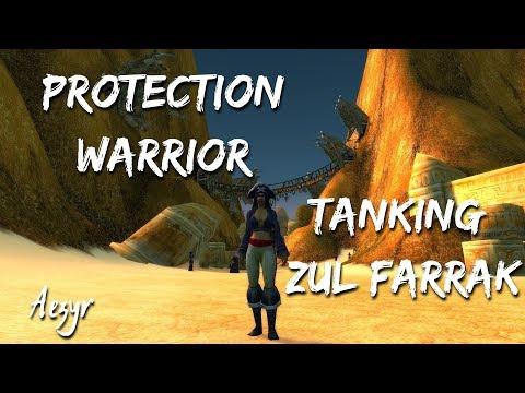WoW: Classic | Tanking Zul Farrak as Prot Warrior [ ZF ] | Aezyr