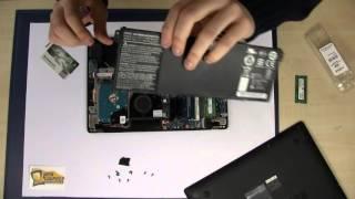Acer Aspire V3 371 (v3 112 e13 es1-311 ) RAM Memory Arbeitsspeicher SSD Upgrade Repair Tutorial
