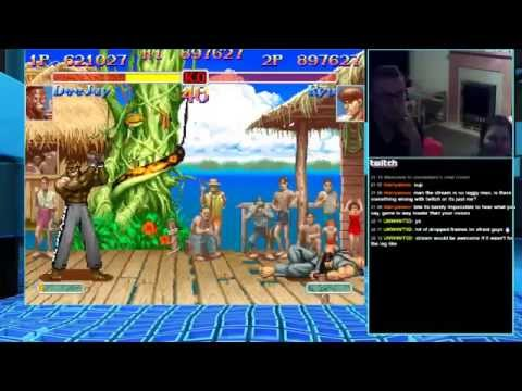 Twitch Live Stream Super Street Fighter 2 Turbo 26/4/15