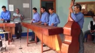 San Antonio Huista, marimba Brisas del Río Azul