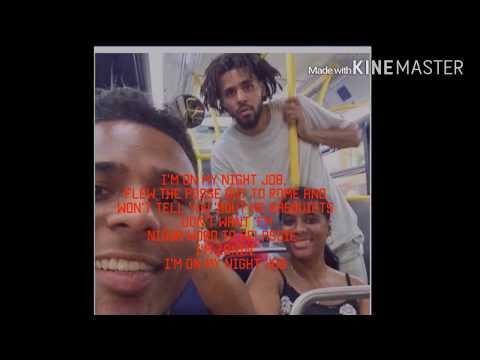 Bas- Night Job ft. J COLE (Lyrics)