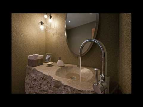 Luxury stone bathroom designs