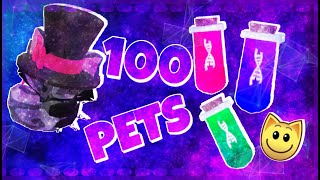 I sent 100 PËTS on EXPEDITION! (So many dna...) - Animal Jam Play Wild