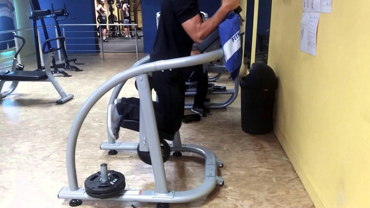 fitness park caen mouvement abdos nouvelle machine youtube. Black Bedroom Furniture Sets. Home Design Ideas