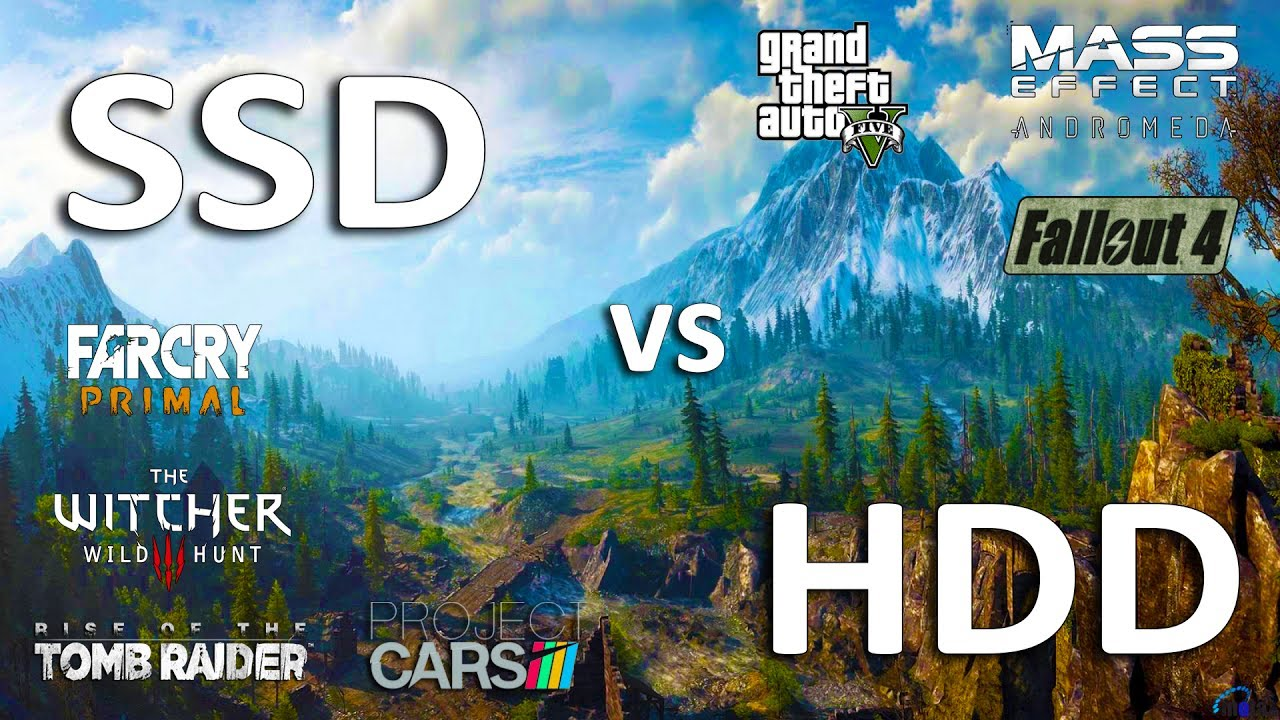 Best Ssd For Gaming 2020 SSD vs HDD Test in 7 Games (LoadingFPS)   YouTube