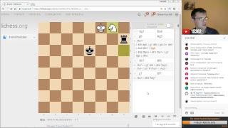 Шахматы. Игра со зрителями на lichess.org: последняя стримерская среда  2017 года