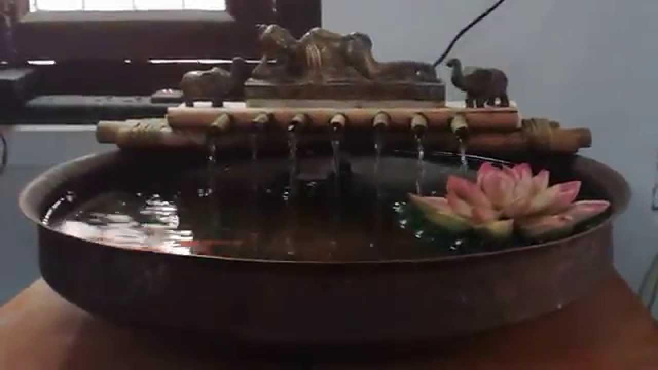 Sleeping Buddha Table Top Fountain.   YouTube