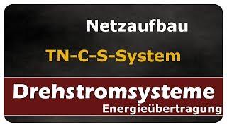 Let's Learn Drehstromsysteme - Netzaufbau TN-C-S-System
