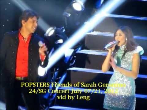 Sarah Geronimo with Anton Alvarez Wish @ 24/SG Concert July 07-21, 2012