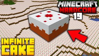 Building a CAKE Factory in Hardcore Minecraft (#19)