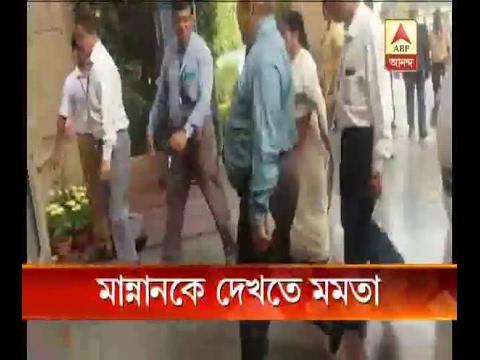 Mamata Banerjee visits Abdul Mannan in hospital