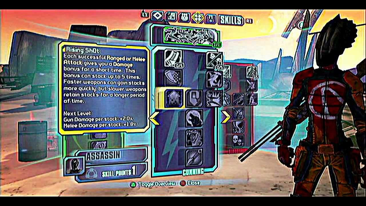Borderlands zero build