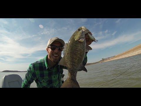 Gopro smallmouth bass clinton lake youtube for Clinton lake fishing report