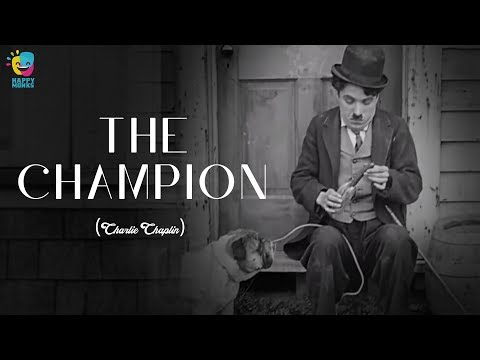 The Champion(1915) Charlie Chaplin  - Edna Purviance, Leo White