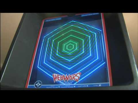 Classic Game Room - WEB WARS for Vectrex review
