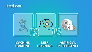 Machine Learning vs Deep Learning vs Artificial Intelligence | ML vs DL vs AI | Simplilearn