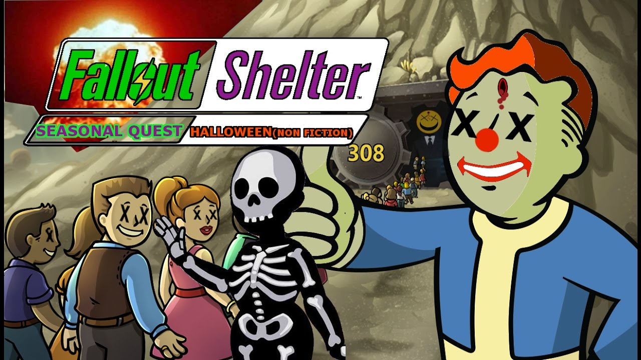 fallout shelter halloweennon fiction 1 2