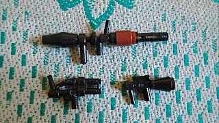 Собираем оружия из Lego (самоделка № 4)