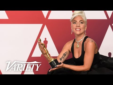 Lady Gaga - Best Song 'A Star is Born' - 2019 Oscars - Full Backstage Interview