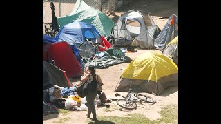 WELCOME TO CAMP COVID: Homeless living in tents take over city parks