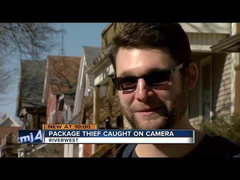 Porch Pirate Targets Milwaukee's Riverwest Neighborhood