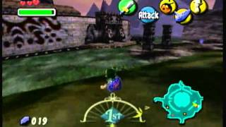 Lets Play The Legend Of Zelda Majora's Mask Episode 8-Sword Challenge FAIL!!!