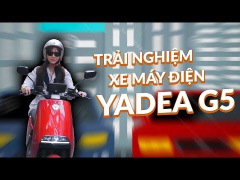 Trải nghiệm Yadea G5 giá 40tr đối thủ mạnh của Vinfast Klara