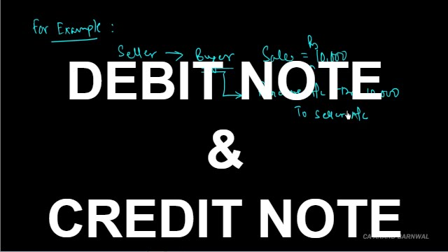 Debit note and credit note hindi youtube altavistaventures Choice Image