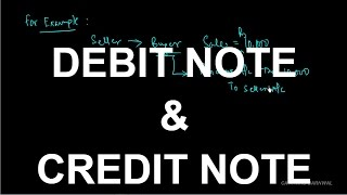 DEBIT NOTE AND CREDIT NOTE [HINDI]