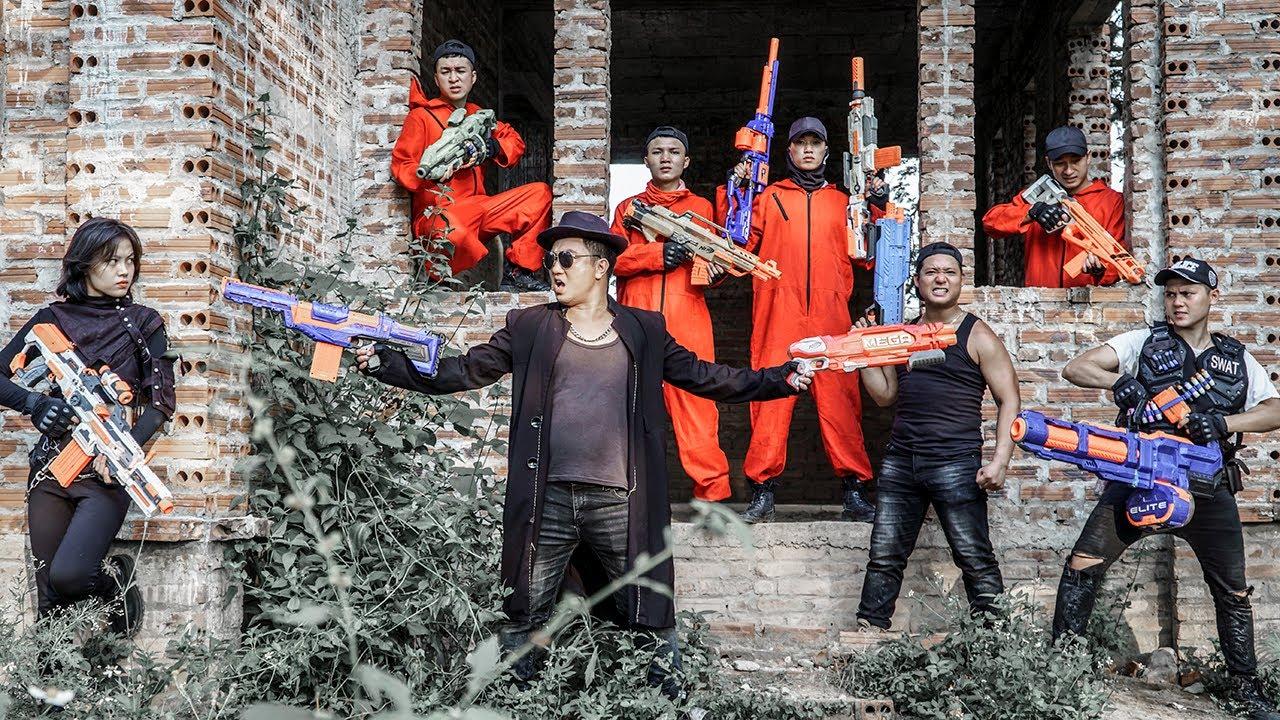 LTT Nerf War : SEAL X Warriors Nerf Guns Fight Criminal Dr Ken Crazy Nerf Shooter Defends Justice